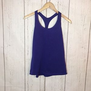 Champion Purple Mesh Racerback Tank